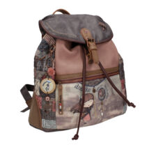 Miss Anekke csatos, húzózáras hátizsák, 33x13x34,5cm