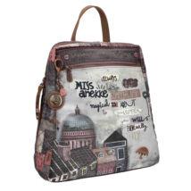 Miss Anekke nagyméretű, lapos hátizsák, felnőtt, 25,5x7x29,5cm