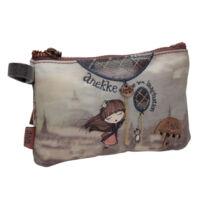 Miss Anekke egy rekeszes, mini pénztárca, 15,5x1,5x10cm