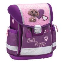 Classy - Cute Puppy merev falú iskolatáska