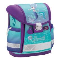 Classy - Purple Mermaid merev falú iskolatáska