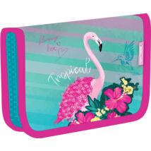 Belmil kihajtható tolltartó 335-72, Pink Flamingo