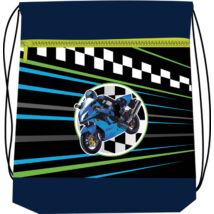 Belmil hálós és zsebes tornazsák superbike