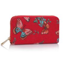 Pillangós pénztárca PIROS