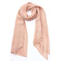 Bordás női sál - rózsaszín