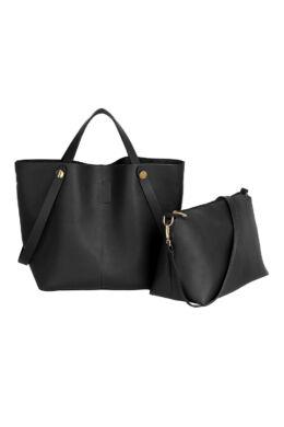 Adél bevásárló táska - Fekete