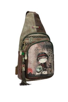 Anekke Egypt vállon átvethető hátizsák 17X6,5X32cm