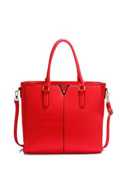 Bella divatos női táska Piros