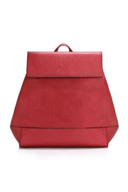 Patentzáras iskolatáska jellegű hátizsák-Bordó