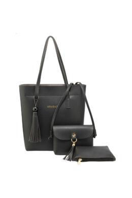 Tracy 3 részes női táskaszett - fekete