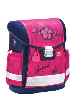 Classy - Tropical Pink merev falú iskolatáska