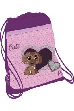 Belmil hálós és zsebes tornazsák 336-91, Cute Puppy