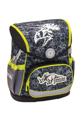 Belmil merev falú iskolatáska Compact  Dinosaur Triceratops