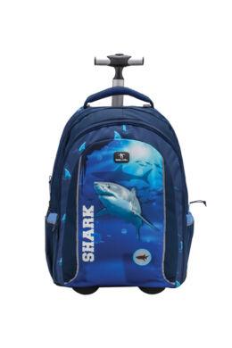 Belmil Trolley és hátizsák 2 az 1-ben, Easy-go  Shark