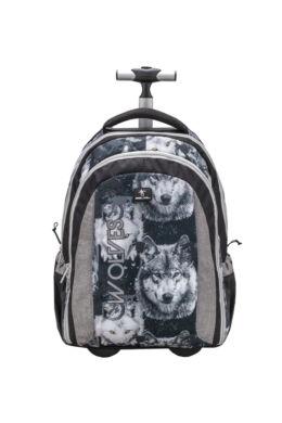 Belmil Trolley és hátizsák 2 az 1-ben, Easy-go  Wolf Grey