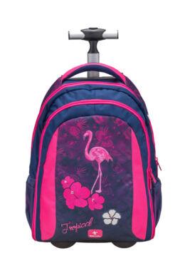Belmil Trolley és hátizsák 2 az 1-ben, Easy-go  Flamingo