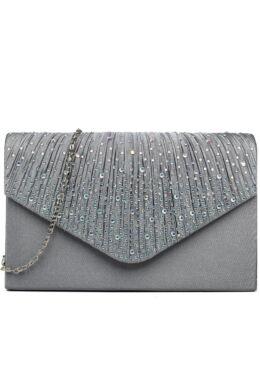 Ashley LY1682 alkalmi táska - szürke