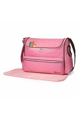 Állatfigurás pelenkázó táska-pink