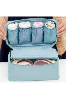 NC Vízálló kozmetikai táska világoskék