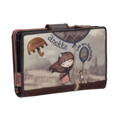 Miss Anekke kis, patentos pénztárca, 14x2x10cm