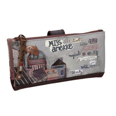 Miss Anekke patentos, okmánytartós pénztárca, felnőtt, 19x3x10cm