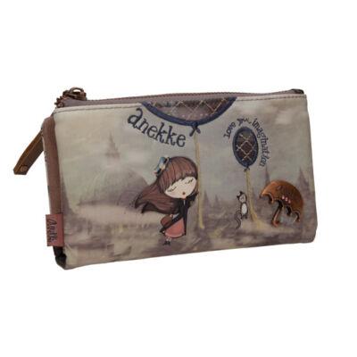 MIss Anekke patentos, cipzáras pénztárca, 17x2x10cm