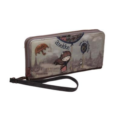 Miss Anekke cipzáras pénztárca, 20x3x10cm