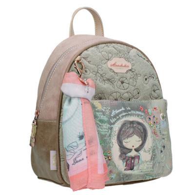 Anekke közepes hátizsák,két rekeszes Jane 22x13x28cm