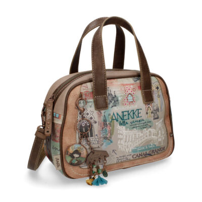 Anekke kisméretű, szélesített női táska Felnőtt kollekció, Venice, 22x8x14 cm