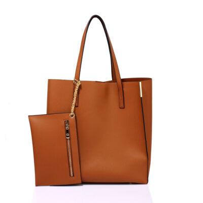 Adelina bevásárlótáska barna