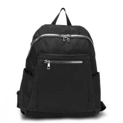 Uniszex hátizsák - fekete