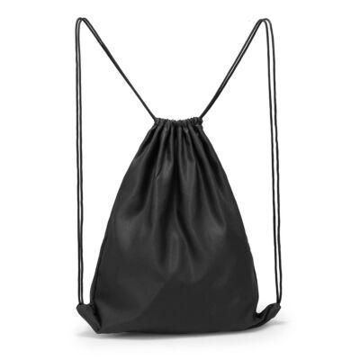 Zsinóros  hátizsák – Fekete