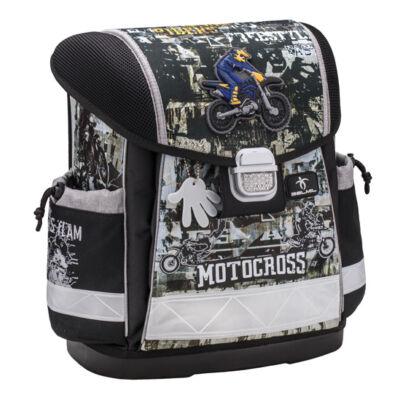Classy - Motocross merev falú iskolatáska