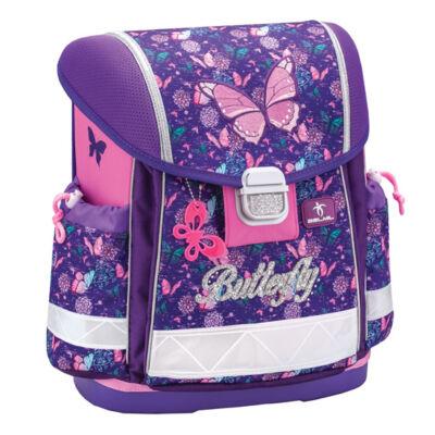 Classy - Butterfly merev falú iskolatáska