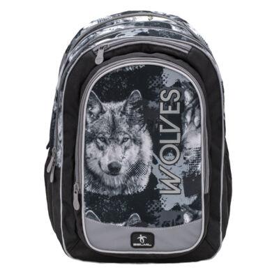 Belmil- The Spacious Wolves Grey iskolatáska