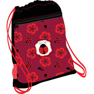 Belmil hálós és zsebes tornazsák Ladybug