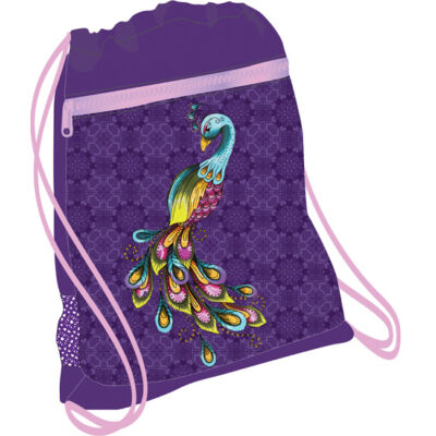 Belmil hálós és zsebes tornazsák Peacock