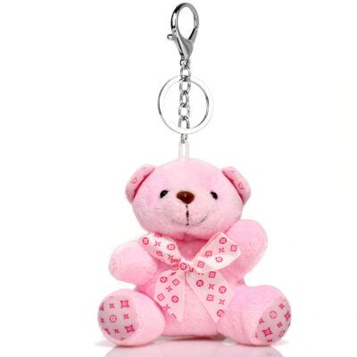 Macis táskadísz-rózsaszín