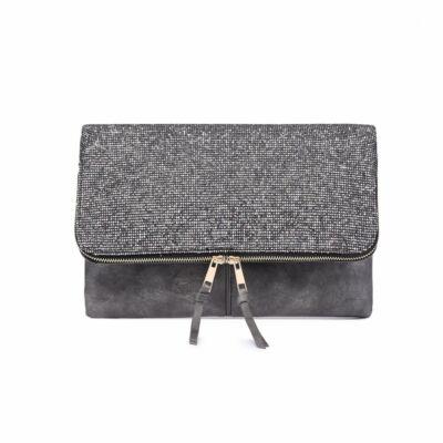 Dora LT1764 alkalmi táska - sötétszürke