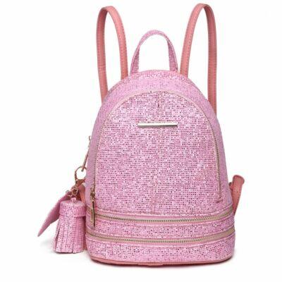 Suzy LT1763 Divatos kis hátitáska_pink