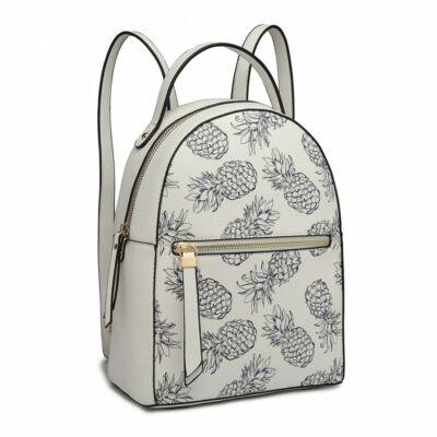 Ananászos hátizsák - fehér