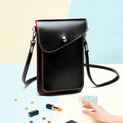 Helen E1805 mini oldaltáska - fekete