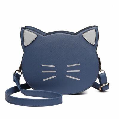 Lovely Kitty cicás oldaltáska - kék