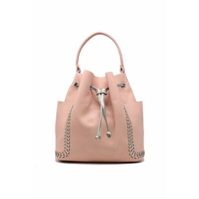 Zoé bevásárló táska - rószaszín