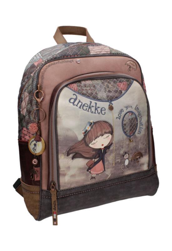 Miss Anekke klasszikus iskolatáska, 32x14x40cm