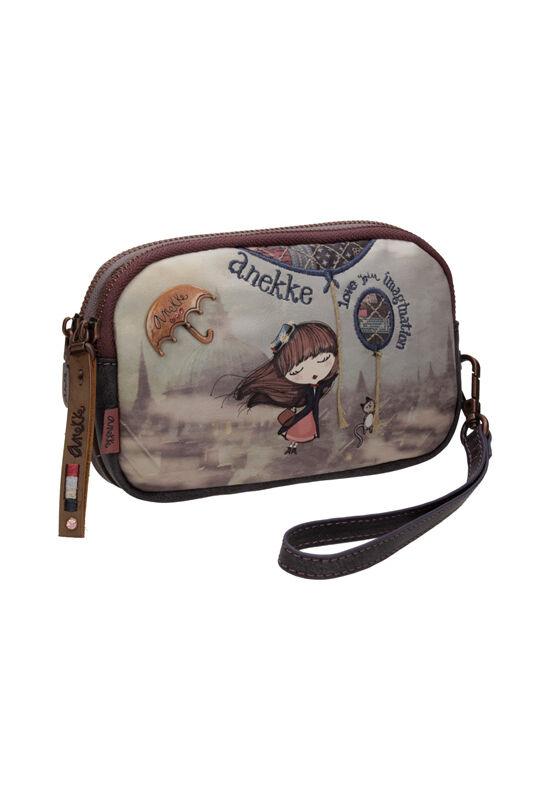 Miss Anekke kis, kétrekeszes, kompakt pénztárca, 15x3,5x10,5cm