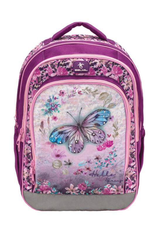 Speedy - Hello Spring Purple iskolatáska
