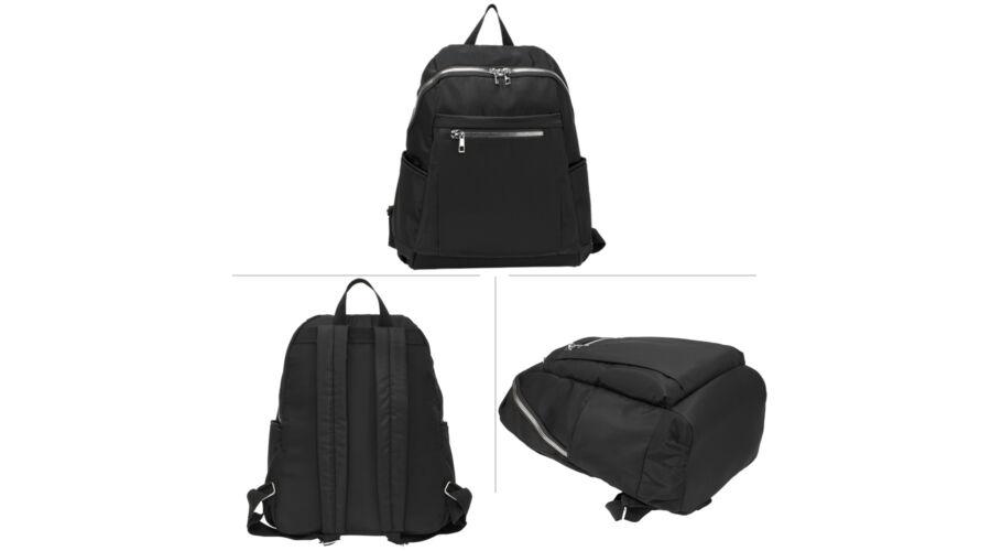 114f1f49bc21 Uniszex hátizsák - fekete - Hátizsákok