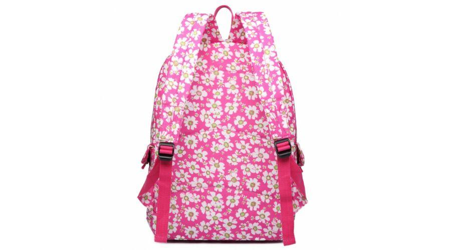 e8eb75ab23a5 Virágos hátizsák E6609 - rózsaszín - Hátizsákok